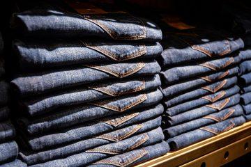 Spodnie dżinsowe męskie klasyczne